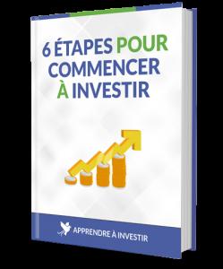 ebook 6 étapes pour commencer à investir