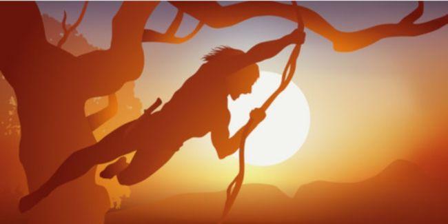 Investir en Mode Tarzan avec couteau à la ceinture