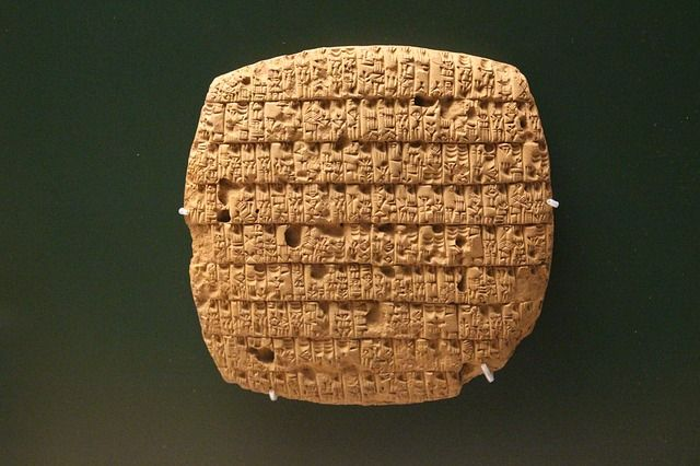 Les tablettes d'argile de Babylone