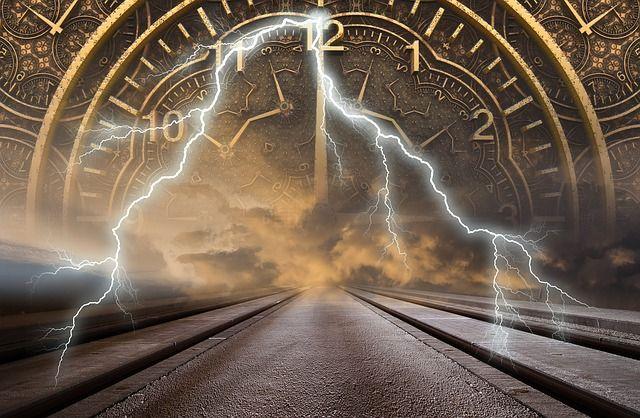 Le temps n'existe pas - vision de la vie