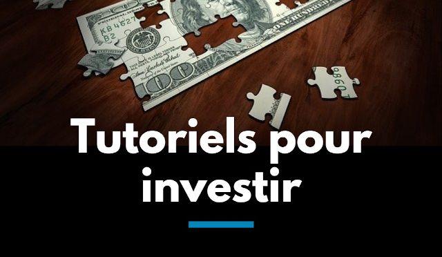 Tutoriels pour investir en bourse