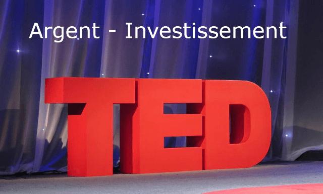 Conférences TED sur l'investissement et l'argent